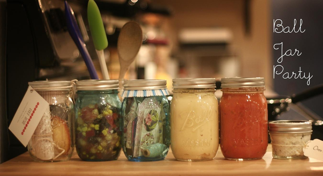 Ball Jar Party