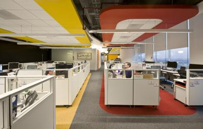Google Office Interiors